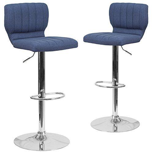 Luxury Flash Furniture Swivel Bar Stool