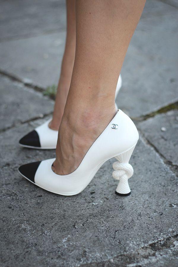OUTFIT | CHANEL KNOT PUMPS www.dressupforarmageddon.com