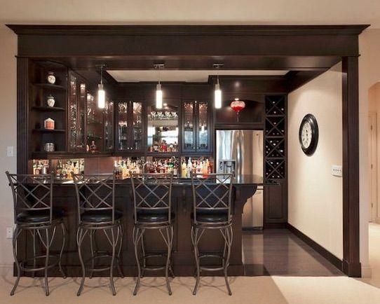 Elegant Basement Bar Cost