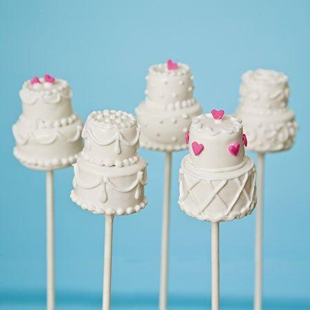 Wedding Cake Cake Pops!