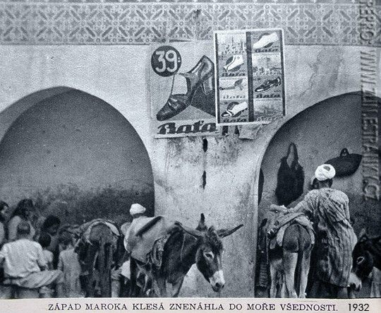 1932 Bata Ads in Maroco