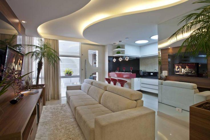 Reforma Casa Ipiranga: Salas de estar translation missing: br.style.salas-de-estar.moderno por Designer de Interiores e Paisagista Iara Kílaris