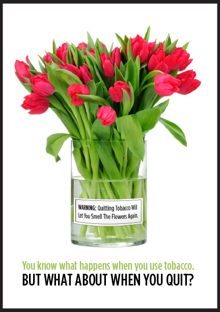 Warning: Quitting Tobacco Will Let You Smell the Flowers Again!