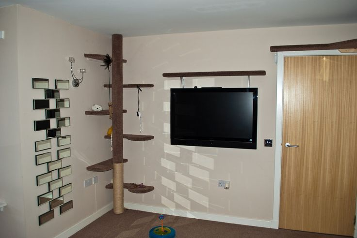 I have just extended Tricia's cat playground, this is the finished article - maybe!
