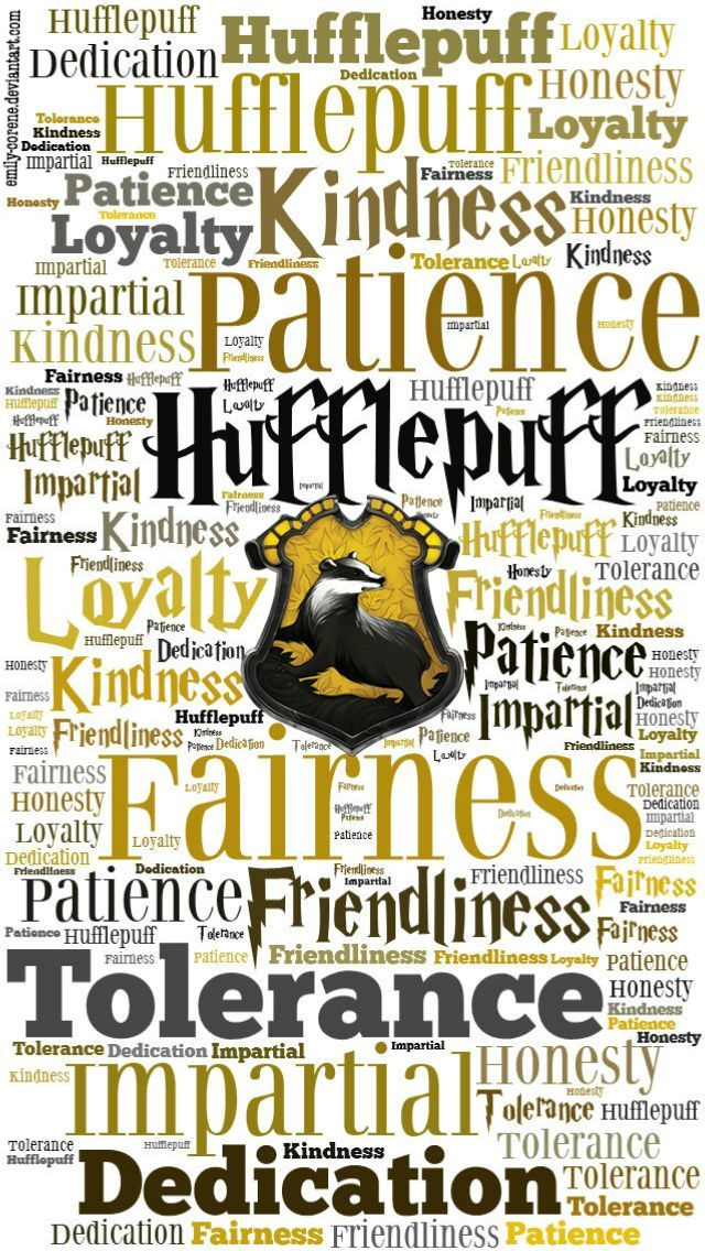 HD Hufflepuff Traits Phone Wallpaper by emily-corene.deviantart.com on @DeviantArt