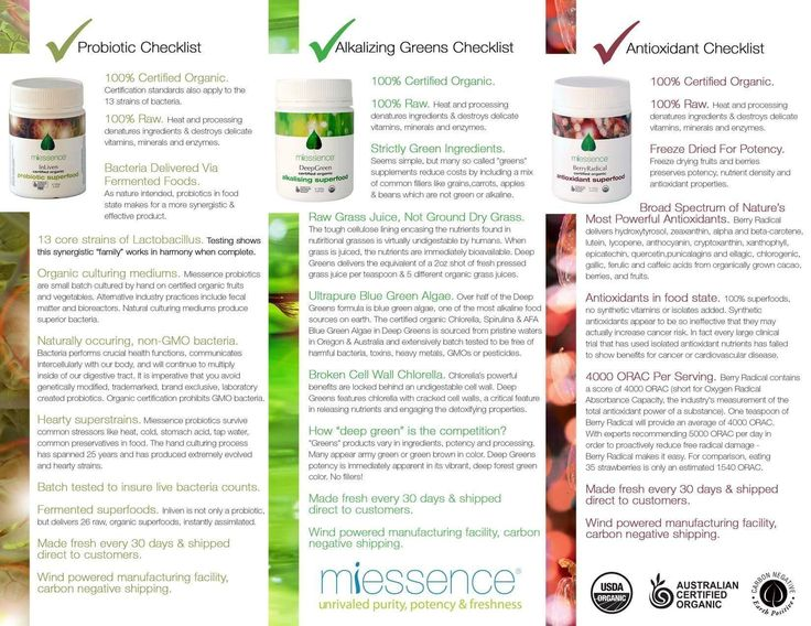 What if flooding your body with 39 raw, certified organic vegetables, greens & fruits, 13 superstrains of organic probiotic bacteria, 3 different kinds of ultrapure blue green algae & 5 different kinds of grass juices was FAST, EASY AND CONVENIENT?! Miessence's 30-Day Vitality Pack makes it so, and the 10-Day Vitality Challenge Kit lets you experience a 'taster' of the products to see how you feel after just 10 days of giving your body nutrient-dense superfoods.   mariebeermann.miessence.com
