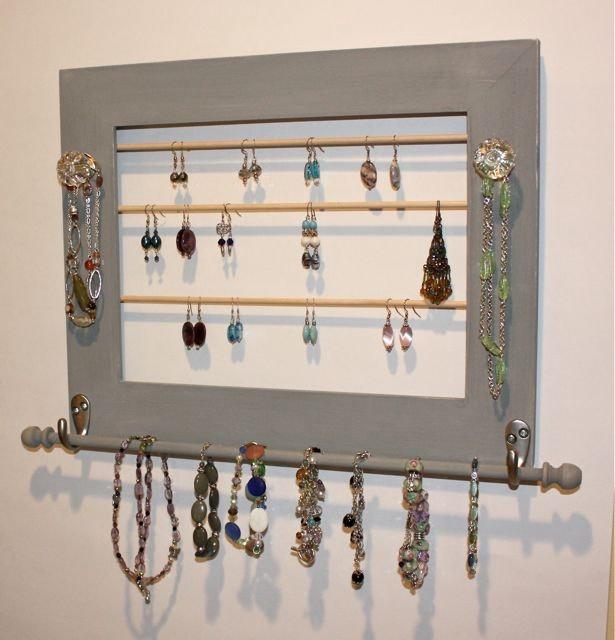 22 Best DIY Jewellery Organizer Images On Pinterest | Diy Jewelry  Organizer, Jewelry Organization And Jewelry Storage