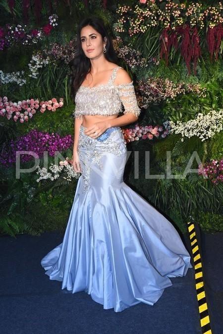 PHOTOS: Katrina Kaif looks stunning at Virat Kohli-Anushka Sharma Mumbai reception | PINKVILLA
