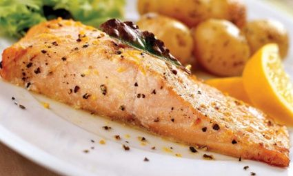 Salmon Fillets with Thyme
