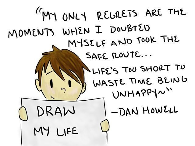 This is a great quote from Dan Howell (danisnotonfire)