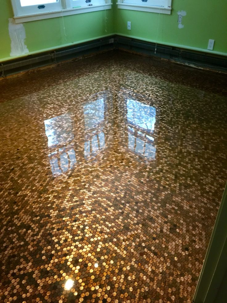 Penny Floor By Sierra Concrete Arts Interior Decorative