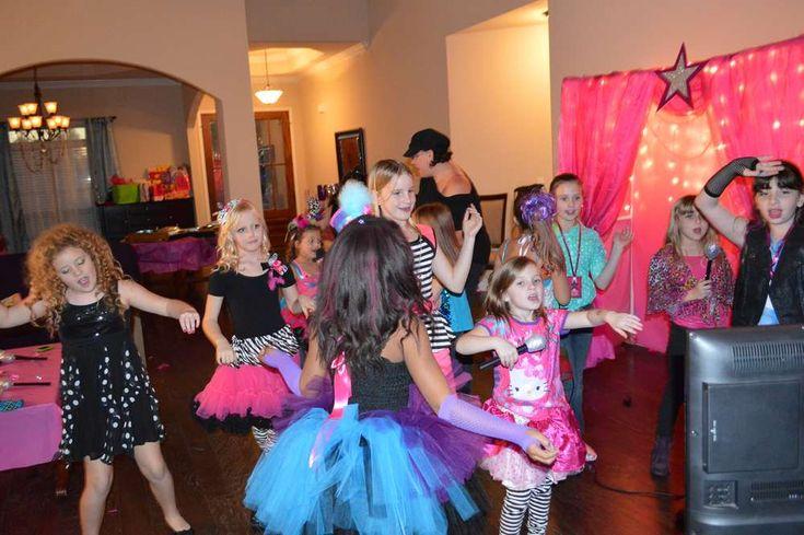 Freeze Dance Game, Pop Star Birthday Birthday Party Ideas | Photo 4 of 33 | Catch My Party