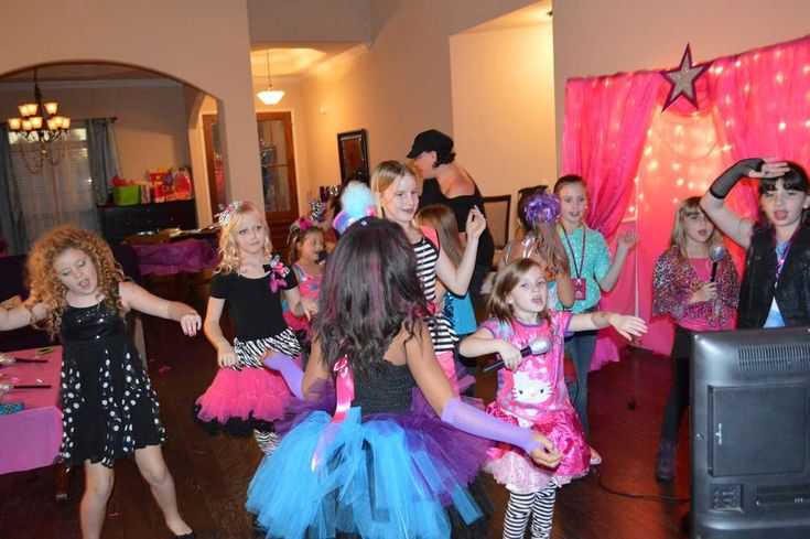 Freeze Dance Game, Pop Star Birthday Birthday Party Ideas | Photo 4 of 33 | Catch My Party