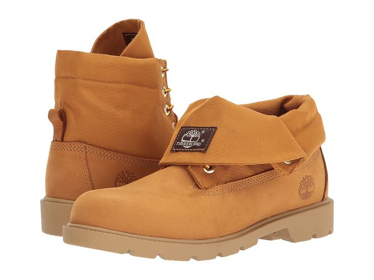 Timberland Kids Roll-Top Single Shot (Big Kid) Kids Shoes Wheat Nubuck