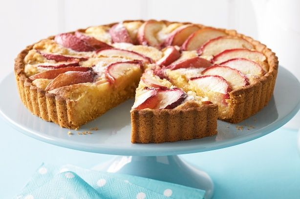 This nectarine frangipane tart is a delightful afternoon treat with friends and family.