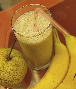 Asian Pear and Banana Smoothie