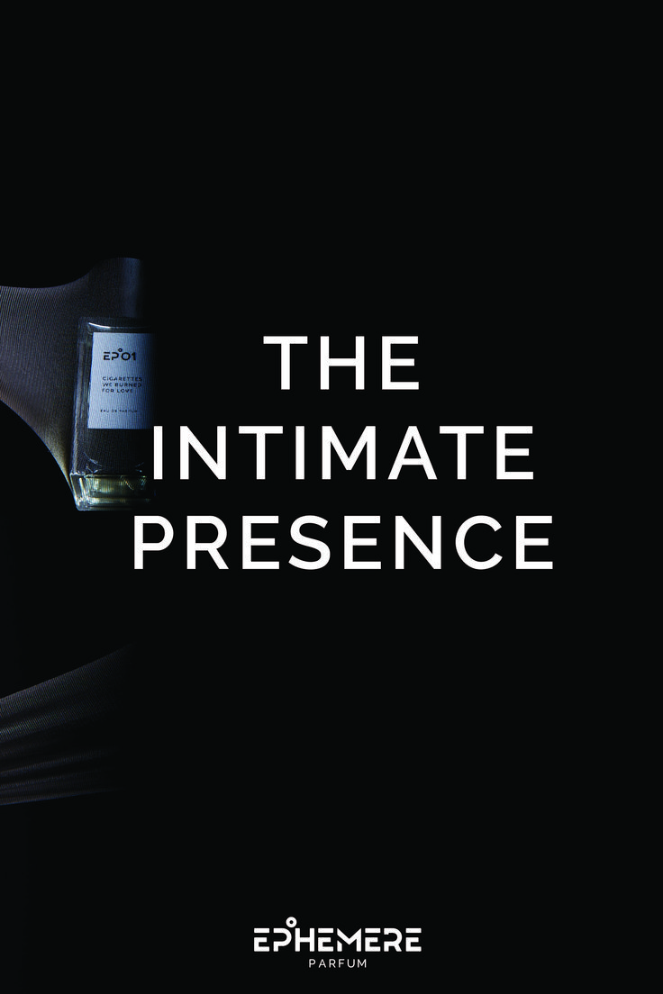 EPHEMERE PARFUM The Intimate Presence Photoshoot Thanawatchu