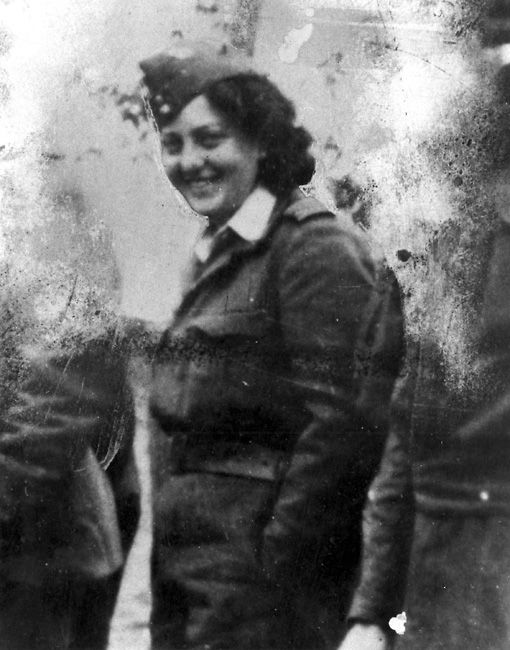 Hannah Szenes (1921-1944) was a Jewish Hungarian resistance fighter who was parachuted behind German lines in World War 2.