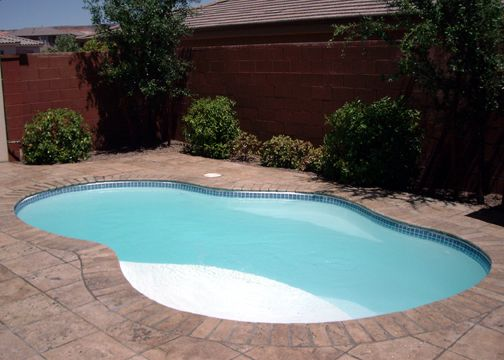 Fiberglass Pool Ideas pool design mid century style kidney fiberglass pool prices and design with rustic paving and 73 Best Images About Fiberglass Pools On Pinterest