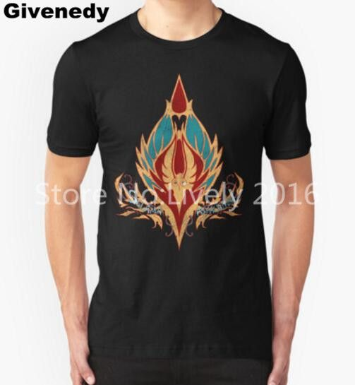 Men T-Shirts Crest of the Sin'dorei (Style 2) Cotton T shirt Homme Short Sleeve Fashion T Shirts Men's Brand Tee Shirts #Affiliate