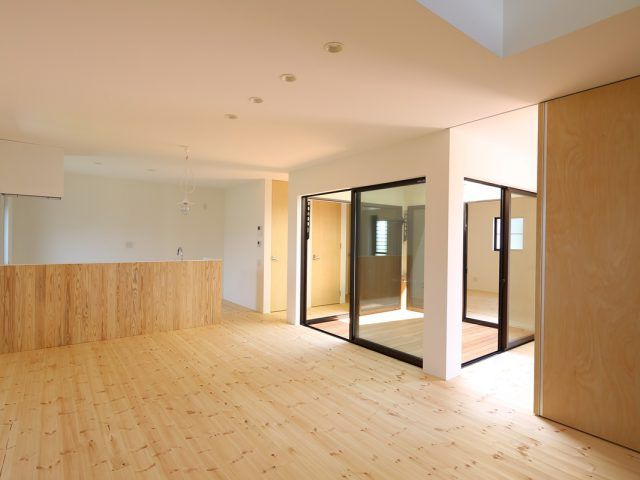 Os様邸 コンセプト ハウス デザイナーズ住宅 リビング