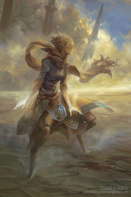 Peter Mohrbacher - Suphlatus, Angel of Dust