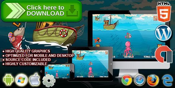[ThemeForest]Free nulled download Let's Go Fishing - HTML5 Construct 2 Skill Game from http://zippyfile.download/f.php?id=47739 Tags: ecommerce, admob, arcade, arcade game, capx, child game, children game, classic, digger, endless game, fish, fishing, fishing game, gold miner, html5 game, sea