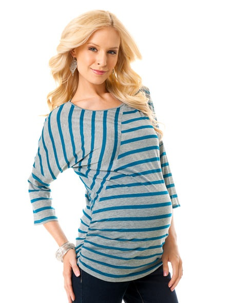 I'm not pregnant! But when I am I want this style of shirt...