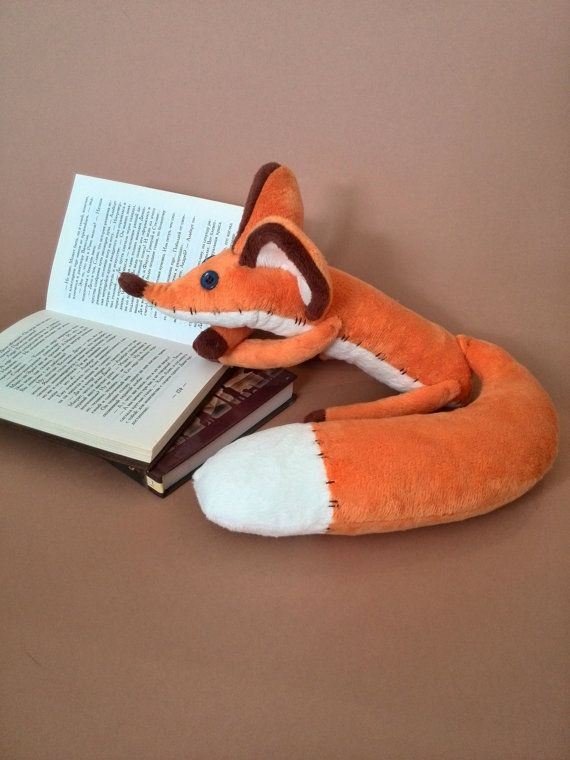 Fox plush toy Little Prince Gift for children by HandmadeToyStore