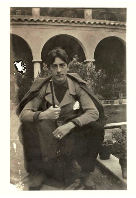 Jean Cocteau, 1918.
