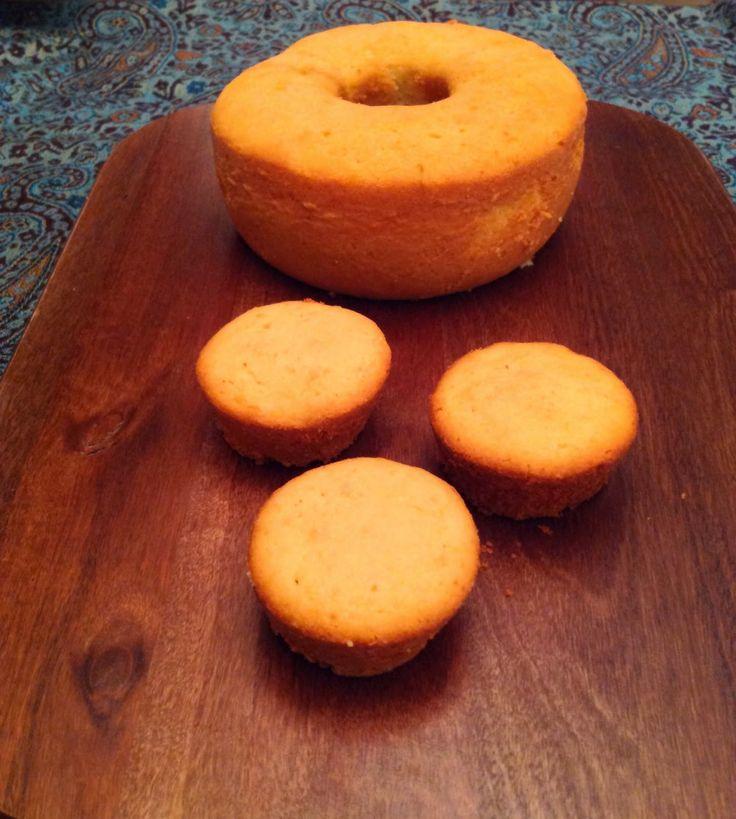 Pitadas da Bella: Bolo de iogurte e raspas de casca de laranja