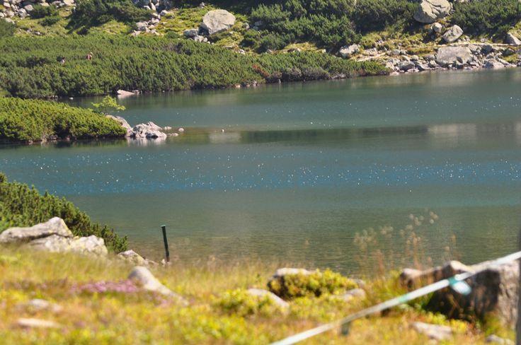 Black Lake below Mount Rysy. Poland