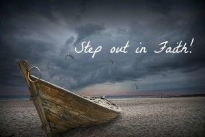 Sometimes you just need to step out in faith and you'd be amazed at what God has in store for you!