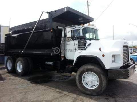 Camiones y Buses   Mack DM Panamá 1995   VOLQUETES MACK DM