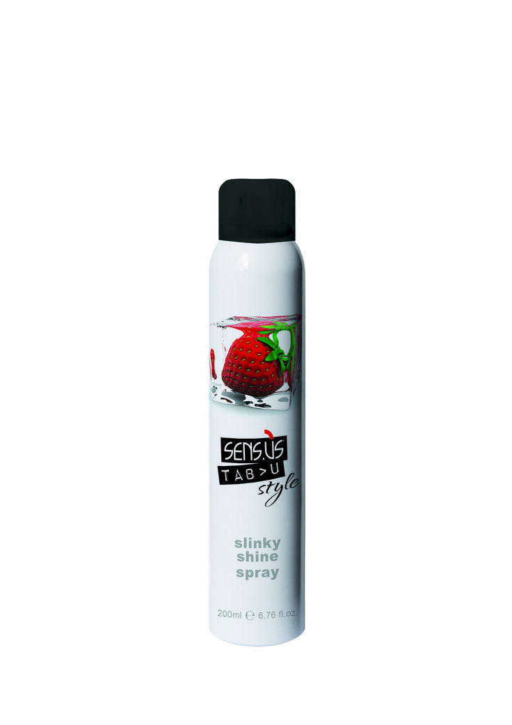 Shine spray for hair.  For an extra-shiny finish without weighing your hair down, this spray has anti-static properties. Directions: spray onto styled hair for extra shine. #hairstyle
