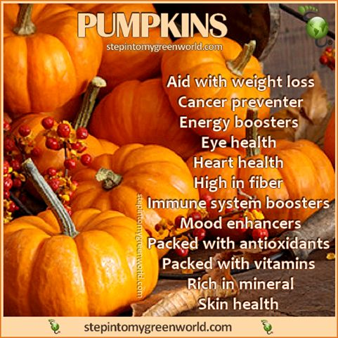 Now I know why I LOVE pumpkin so much!