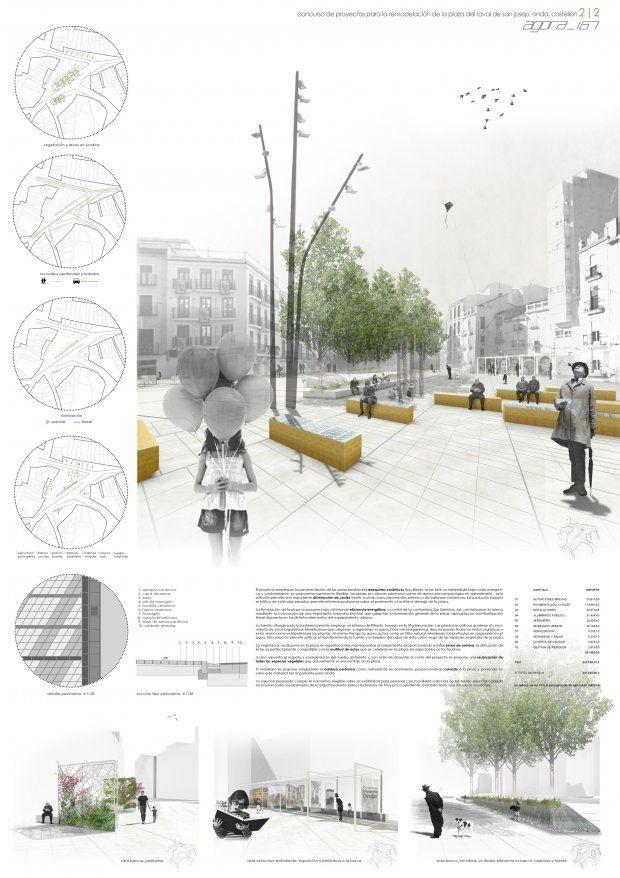 Font mestre arquitectos concurso plaza raval de sant - Arquitectos castellon ...