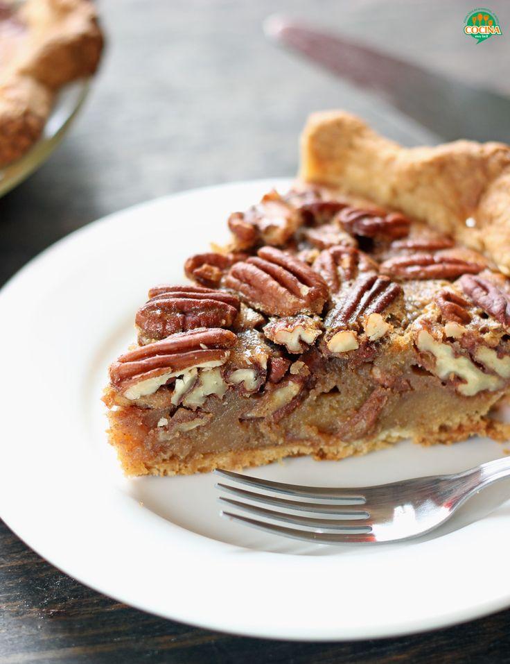 Estrenamos #receta: la versión saludable y baja en carbohidratos del delicioso pay de nuez http://cocinamuyfacil.com/pay-de-nuez-receta-saludable/