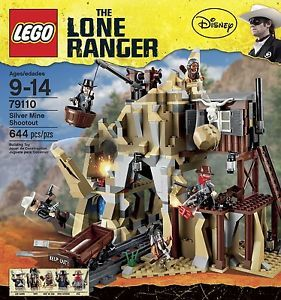 Lego Lone Ranger 79110 Silver Mine Shootout New SEALED   eBay