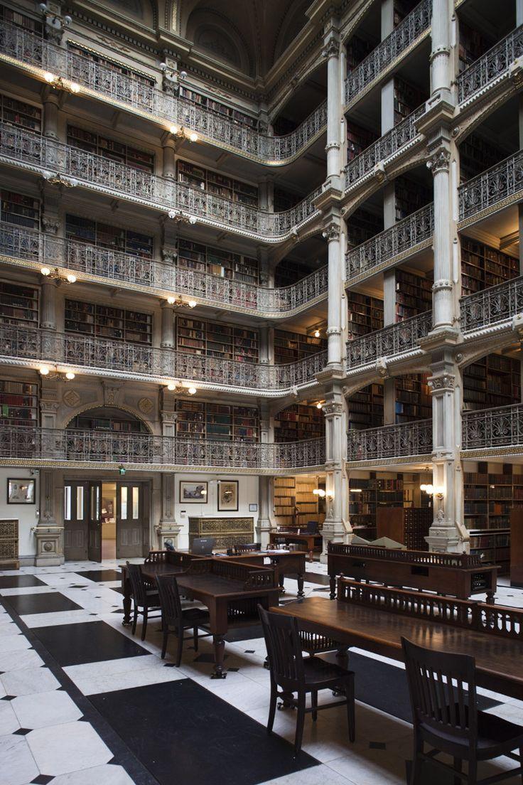 Biblioteca George Peabody, Baltimore
