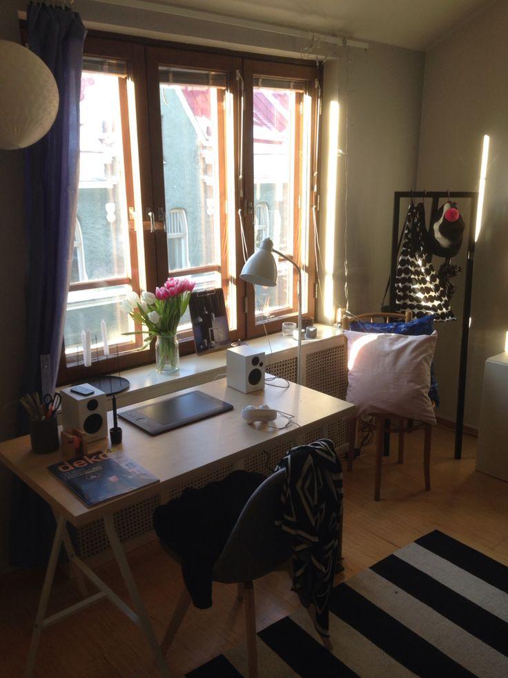 My room in Punavuori, Helsinki