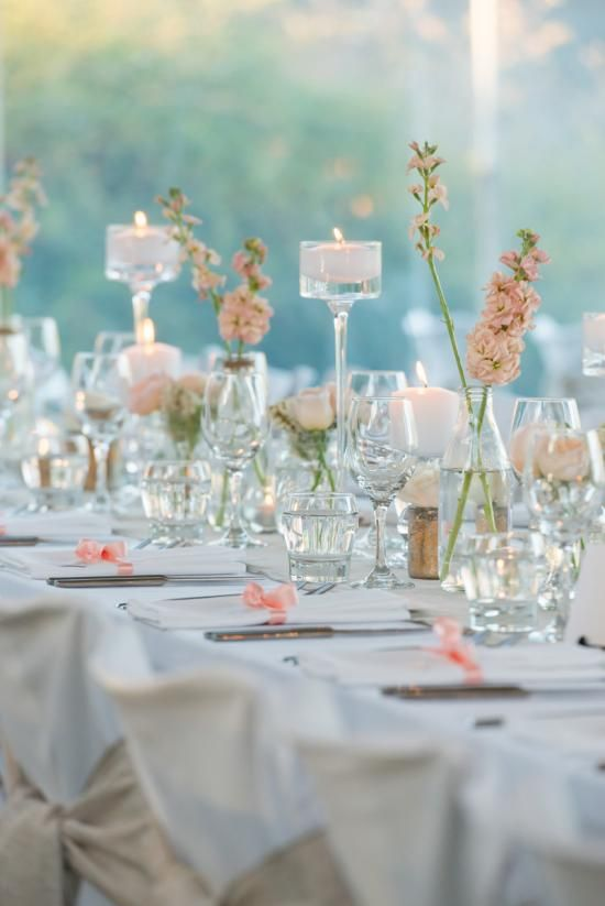 Table top wedding decor with @simplyperfect and @richbayleyphoto