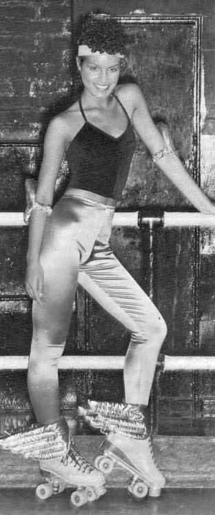 Miss Vintage Pop Culture: The Jock / Roller Disco Look