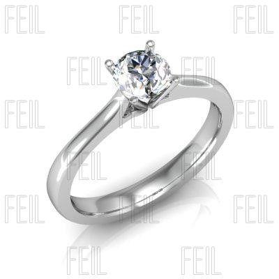 Arany eljegyzési gyémánt gyűrű WEXEAu-10