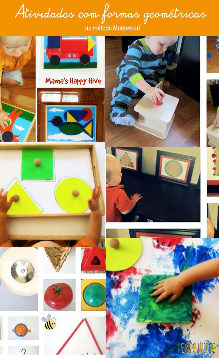 Brincadeiras do método Montessori para o fim de semana #tempojunto