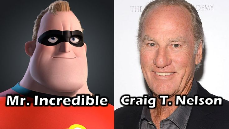 Movie the incredibles voices