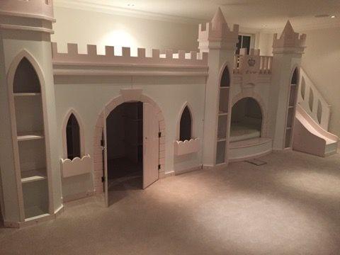 Evie Princess Castle Bed