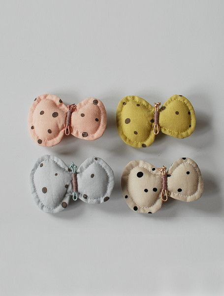 the | butterfly | hair clip too cute as those tiny tots #fashion