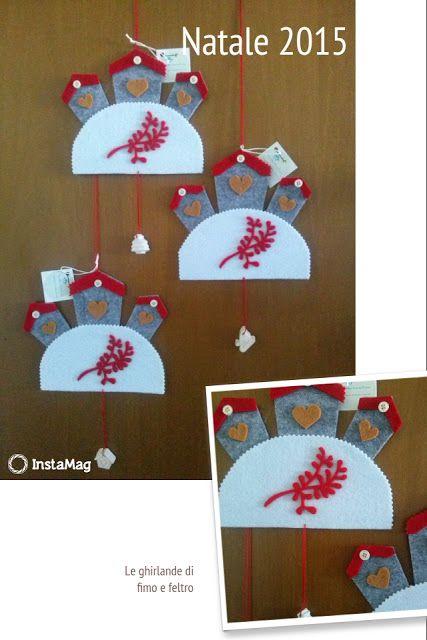Fimo e Feltro...l'arte tra le mani: La collina di Natale