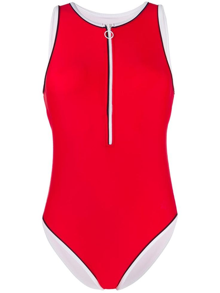 Perfect Moment Zipped Swimsuit
